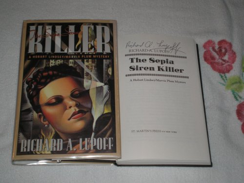 THE SEPIA SIREN KILLER: Lupoff, Richard A.