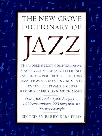9780312113575: The New Grove Dictionary of Jazz