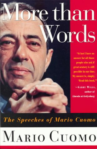 9780312113858: More Than Words: The Speeches of Mario Cuomo