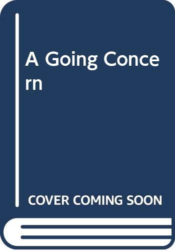 9780312114237: A Going Concern