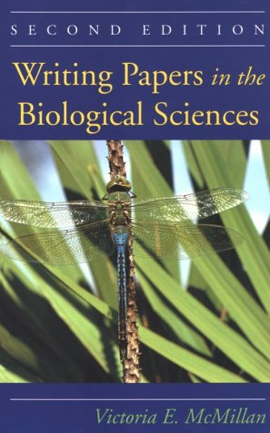 9780312115043: Writing Papers in the Biological Sciences