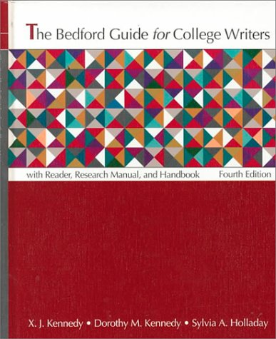 9780312115579: The Bedford Guide for College Writers: With Reader, Research Manual, and Handbook