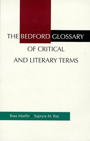 9780312115609: The Bedford Glossary of Critical and Literary Terms