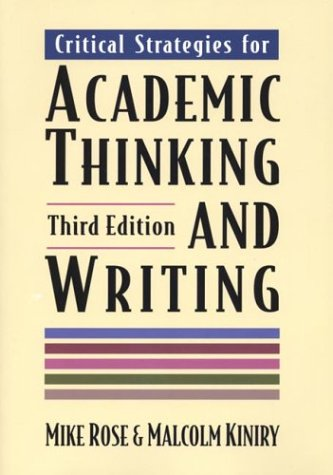 Critical Strategies for Academic Thinking and Writing: Mike Rose, Malcolm
