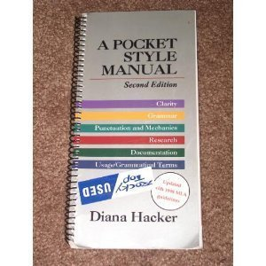 9780312115968: A Pocket Style Manual