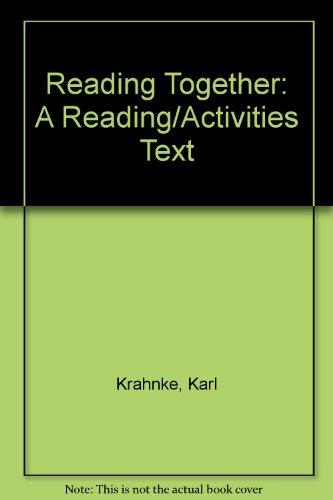 9780312116019: Reading Together: A Reading/Activities Text
