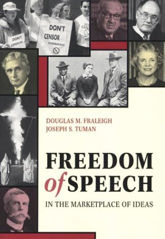9780312117153: Freedom of Speech in the Marketplace of Ideas