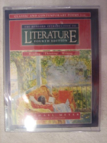 9780312119720: Classic and Contemporary Poems From the Bedford Introduction to Literature Fourth Edition