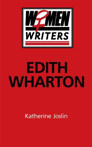 9780312120252: Edith Wharton (Women Writers)