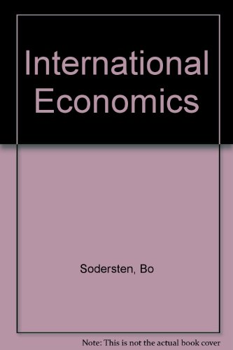 9780312121037: International Economics