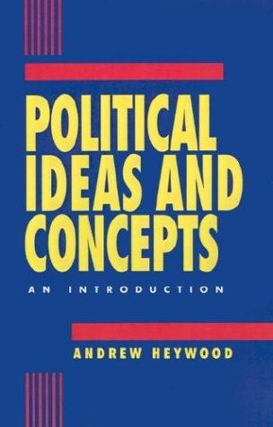 9780312121082: Political Ideas and Concepts: An Introduction