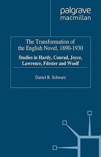Transformation of the English Novel (0312122837) by Daniel R. Schwarz