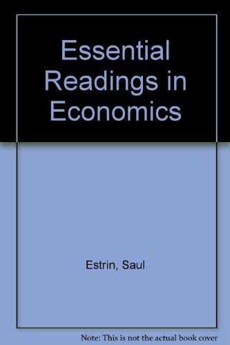 9780312125103: Essential Readings in Economics