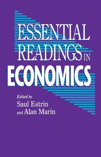 9780312125110: Essential Readings in Economics