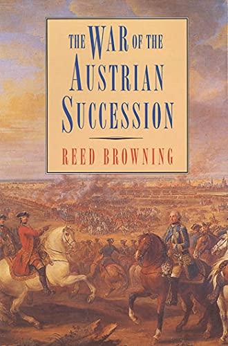 9780312125615: WAR OF THE AUSTRIANSUCCESSION