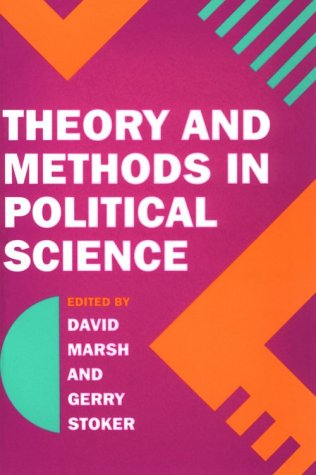 9780312127626: Theory and Methods in Political Science