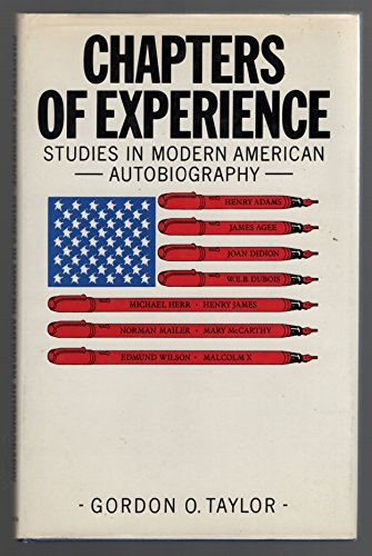 9780312129774: Chapters of Experience: Studies in 20th Century American Autobiography