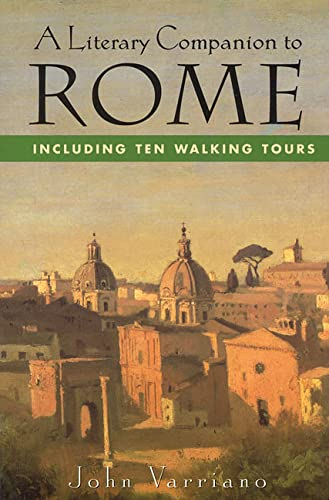 9780312131128: A Literary Companion to Rome: Including Ten Walking Tours
