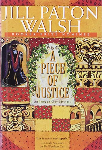 9780312131456: A Piece of Justice: An Imogen Quy Mystery