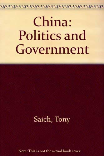 9780312132552: China: Politics and Government