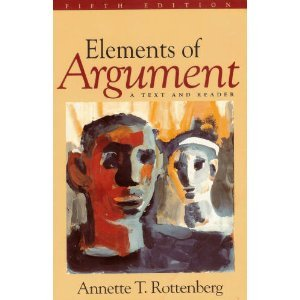 9780312133498: Elements of Argument: A Text and Reader