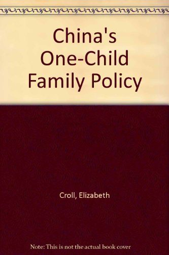 9780312133566: China's One-Child Family Policy