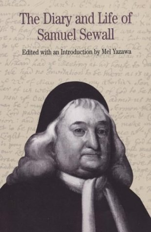the life and career of samuel sewall Samuel sewall easier to read than and made a career of legal, administrative, and religious work strict religious life of the puritans to the later.