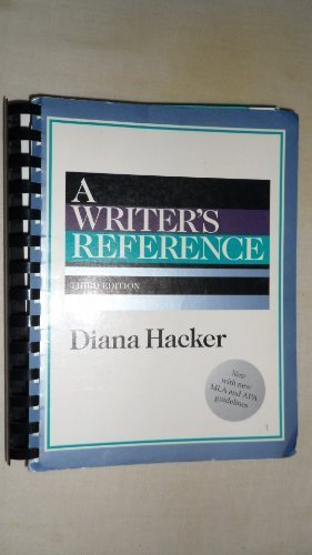 9780312134174: A Writer's Reference