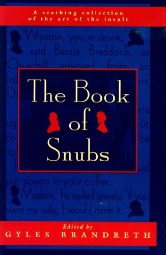 9780312134426: The Book of Snubs