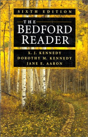 9780312136345: The Bedford Reader