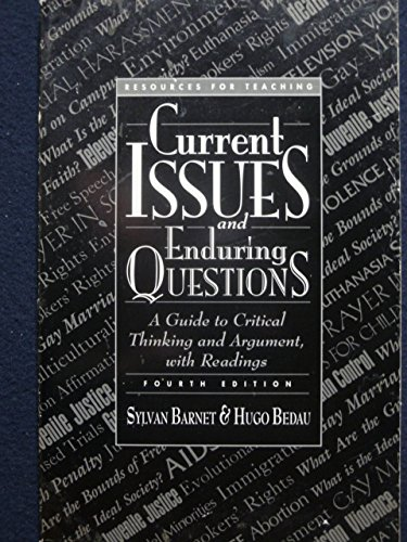 9780312136826: Resources for teaching Current issues and enduring questions: A guide to critical thinking and argument, with readings