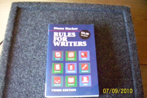 9780312137199: Rules for Writers
