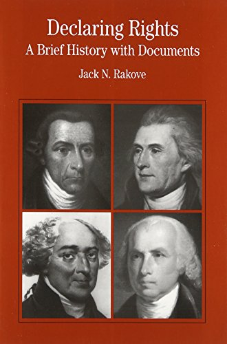 9780312137342: Declaring Rights: A Brief History with Documents (The Bedford Series in History and Culture)