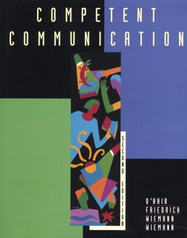 9780312138578: Competent Communication