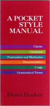 9780312139117: A Pocket Style Manual
