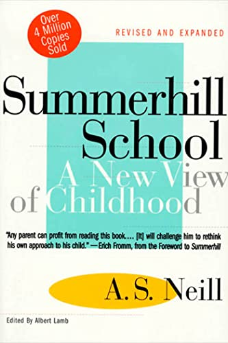 9780312141370: Summerhill School. A New View Of Childhood