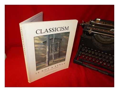 Classicism is not a style: Editor-Demetri Porphyrios