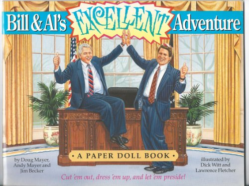 9780312142865: Bill and Al's Excellent Adventure: A Paper Doll Book