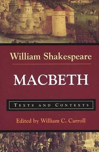 9780312144548: Macbeth: Texts and Contexts (Bedford Shakespeare)
