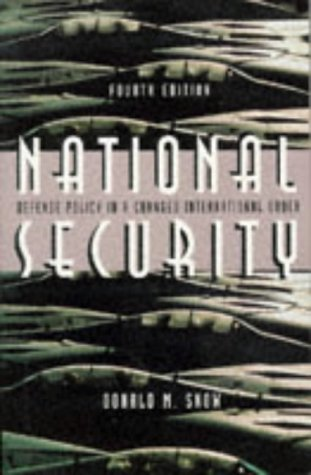 9780312148287: National Security