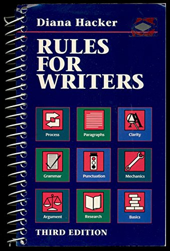 9780312148492: Rules for Writers: A Brief Handbook