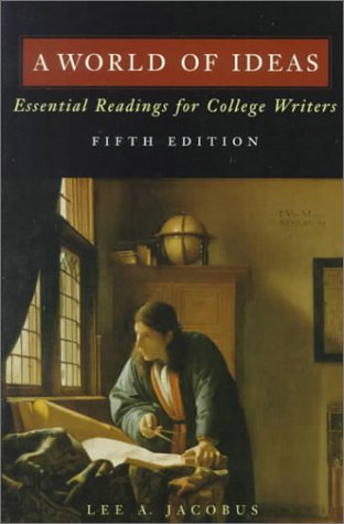 9780312148638: A World of Ideas: Essential Readings for College Writers