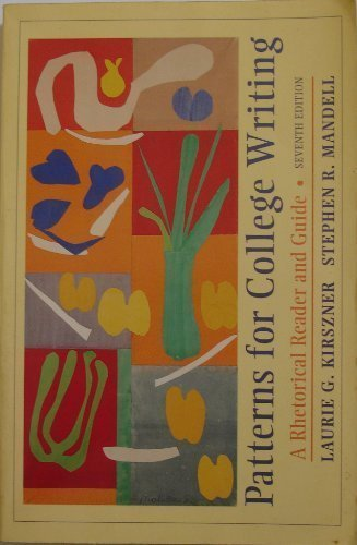 9780312150839: Patterns for College Writing