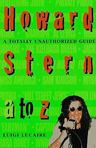 9780312151447: Howard Stern A To Z