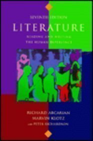 9780312153113: Literature: Reading And Writing The Human Experience