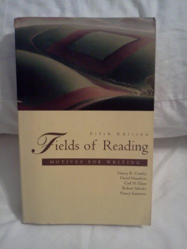 9780312153144: Fields of Reading: Motives for Writing