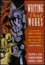 9780312153915: Writing That Works: How to Write Effectively on the Job