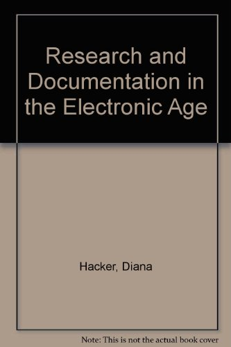 9780312154592: Research and Documentation in the Electronic Age