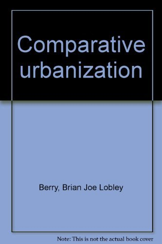Comparative urbanization: Divergent paths in the twentieth century (The Making of the 20th century)...