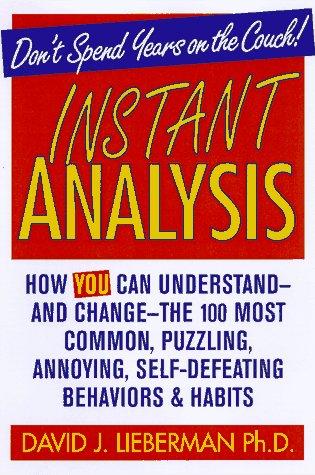 9780312155544: Instant Analysis
